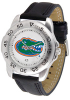 Florida Gators Sport Leather Watch White Dial (Men's or Women's)