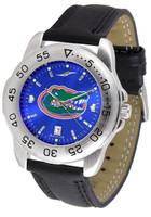 Florida Gators Sport Leather AnoChrome Watch Blue Dial (Men's or Women's)