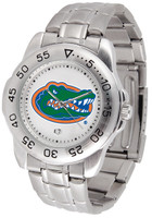 Florida Gators Sport Stainless Steel Watch White Dial (Men's or Women's)
