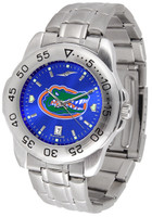 Florida Gators Sport Stainless Steel AnoChrome Watch Blue Dial (Men's or Women's)