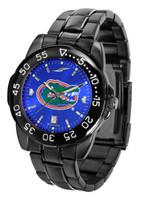 Florida Gators Fantom Gunmetal Sport AnoChrome Watch - Blue Dial (Men's or Women's)