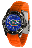 Florida Gators Fantom AC™ Gunmetal Sport AnoChrome Watch - Red Silicone Band