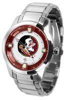 Florida State Seminoles Titan Stainless Steel Watch