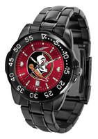 Florida State Seminoles Fantom Gunmetal Sport AnoChrome Watch - Red Dial (Men's or Women's)