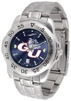 Gonzaga Bulldogs Sport Stainless Steel AnoChrome Watch Blue Dial (Men's or Women's)