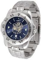 Georgetown Hoyas Sport Stainless Steel AnoChrome Watch Red Dial (Men's or Women's)