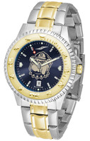 Georgetown Hoyas Competitor 2-Tone 23k Gold AnoChrome Stainless Steel Watch - Red Dial (Men's or Women's)