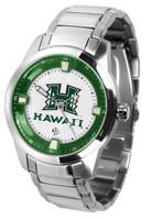 Hawaii Warriors Titan Stainless Steel Watch