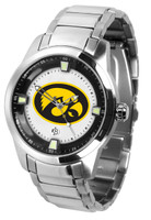 Iowa Hawkeyes Titan Stainless Steel Watch