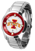 Iowa State Cyclones Titan Stainless Steel Watch