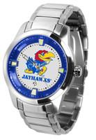 Kansas Jayhawks  Titan Stainless Steel Watch