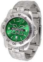 Marshall Thundering Herd  Sport Stainless Steel AnoChrome Watch Green Dial (Men's or Women's)