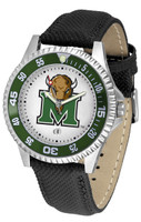 Marshall Thundering Herd  Competitor Leather Watch White Dial (Men's or Women's)
