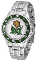 Marshall Thundering Herd  Competitor Stainless Steel Watch - White Dial (Men's or Women's)