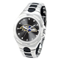 *Baltimore Ravens NFL Men's Game Time NFL Victory Series Watch