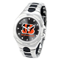 *Cincinnati Bengals NFL Men's Game Time NFL Victory Series Watch