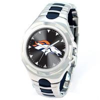 *Denver Broncos NFL Men's Game Time NFL Victory Series Watch