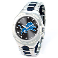 *Detroit Lions NFL Men's Game Time NFL Victory Series Watch