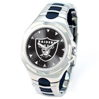 *Oakland Raiders NFL Men's Game Time NFL Victory Series Watch