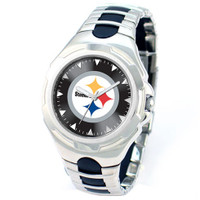 *Pittsburgh Steelers NFL Men's Game Time NFL Victory Series Watch