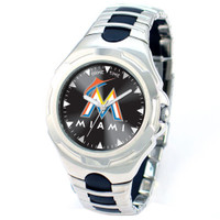 *Miami Marlins MLB Men's Game Time MLB Victory Series Watch