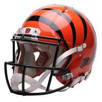 *Cincinnati Bengals Authentic Proline Riddell Revolution Speed Football Helmet