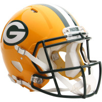 *Green Bay Packers Authentic Proline Riddell Revolution Speed Football Helmet