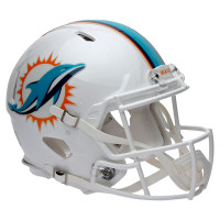 *Miami Dolphins Authentic Proline Riddell Revolution Speed Football Helmet