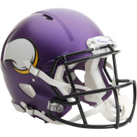 *Minnesota Vikings Authentic Proline Riddell Revolution Speed Football Helmet