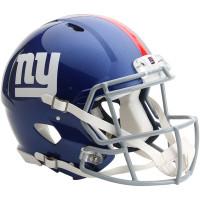 *New York Giants Authentic Proline Riddell Revolution Speed Football Helmet