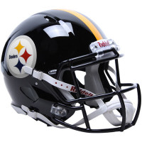 *Pittsburgh Steelers Authentic Proline Riddell Revolution Speed Football Helmet
