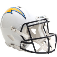 *San Diego Chargers Authentic Proline Riddell Revolution Speed Football Helmet