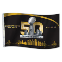 **Super Bowl 50 3' x 5' Flag