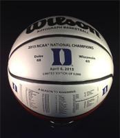 Duke Blue Devils 2015 NCAA Championship Leather Basketball LE 5000