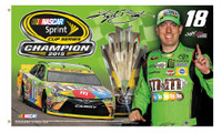 Kyle Busch 2015 NASCAR Sprint Cup Champion 3' x 5' Flag