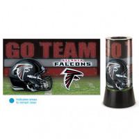 Atlanta Falcons Rotating Team Lamp