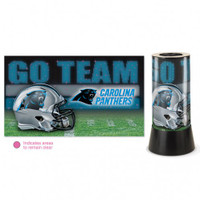 Carolina Panthers Rotating Team Lamp