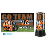 Cincinnati Bengals Rotating Team Lamp