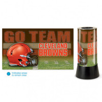 Cleveland Browns Rotating Team Lamp