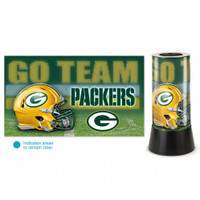 Green Bay Packers Rotating Team Lamp