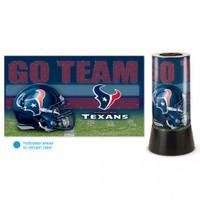 Houston Texans Rotating Team Lamp