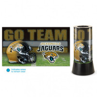 Jacksonville Jaguars Rotating Team Lamp