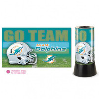 Miami Dolphins Rotating Team Lamp
