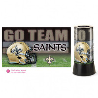 New Orleans Saints Rotating Team Lamp