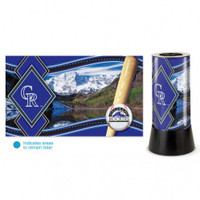 Colorado Rockies Rotating Team Lamp