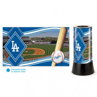 Los Angeles Dodgers Rotating Team Lamp