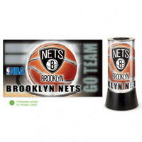 Brooklyn Nets Rotating Team Lamp