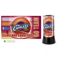 Cleveland Cavaliers Rotating Team Lamp