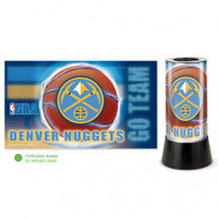 Denver Nuggets Rotating Team Lamp