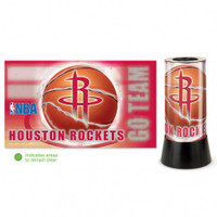 Houston Rockets Rotating Team Lamp